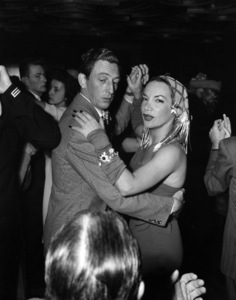 Carmen Miranda dancing with Ray Bolgercirca 1950s - Image 0940_0005