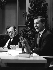 """Woody Allen with Johnny Carson on """"The Tonight Show""""circa 1960s** I.V. - Image 0951_0021"""
