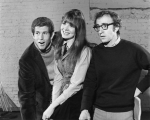 "Tony Roberts, Diane Keaton and Woody Allen in ""Play It Again, Sam"" (pre-Broadway tryout)1969Photo by Friedman-Abeles** B.D.M. - Image 0951_0027"