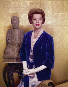 """Rosalind Russell publicity photo for """"Auntie Mame""""1958 Warner Brothers - Image 0952_0001"""