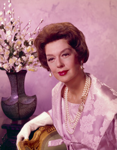 """Rosalind Russell publicity photo for """"Auntie Mame""""1958 Warner Brothers - Image 0952_0005"""