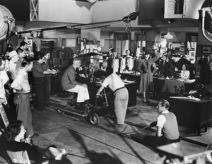 """Rosalind Russell with Dir. Howard Hawks""""His Girl Friday""""Columbia 1940**I.V. - Image 0952_0883"""