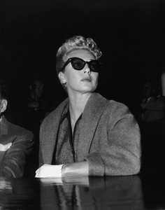 Lana Turner at the Johnny Stompanato murder trial1958** I.V. - Image 0954_0690
