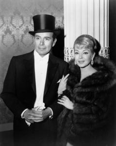 """John Forsythe and Lana Turner in """"Madame X""""1966** I.V. - Image 0954_0718"""