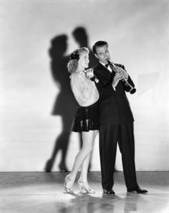 "Lana Turner and Artie Shaw in ""Dancing Co-Ed""1939 MGM** I.V. / J.J. - Image 0954_0721"