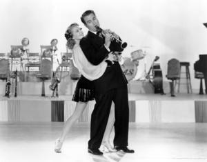 "Lana Turner and Artie Shaw in ""Dancing Co-Ed""1939 MGM** I.V. / J.J. - Image 0954_0722"