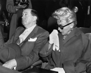 Lana Turner and her attorney, Jerry Giesler1958 - Image 0954_0729