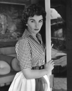 Jean Simmons at Home 4/14/1955 © 1978 Sid Avery - Image 0956_0053