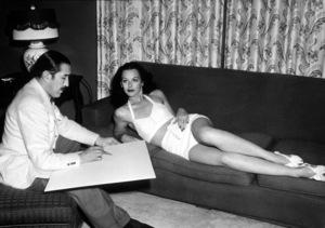 Hedy Lamarr, c. 1941.**I.V. - Image 0958_0120