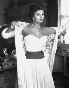 Sophia Loren, 1957. © 1978 Sanford Roth - Image 0959_0236