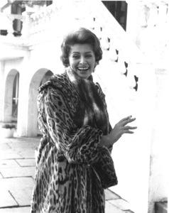 Sophia Loren, 1957. © 1978 Sanford Roth - Image 0959_0237