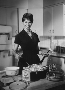 Sophia Loren in IXL Lasagne advertisement circa 1955 © 1978 Paul Hesse - Image 0959_2015