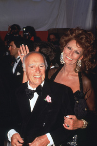 Sophia Loren and Carlo Ponti. © 1993 Pablo Grosby - Image 0959_2023