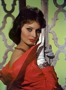Sophia Lorencirca 1959© 1978 Wallace Seawell - Image 0959_2027