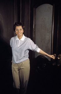 "Sophia Loren on set of ""Black Orchid"" 1958 © 1978 Bob Willoughby - Image 0959_2031"
