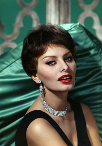 Sophia Loren 1959 © 1978 Wallace Seawell - Image 0959_2041