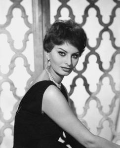 Sophia Loren, 1959. © 1978 Wallace Seawell - Image 0959_2044