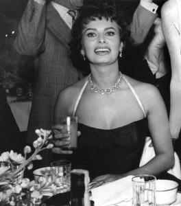 Sophia Loren at Romanoff