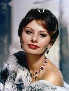 Sophia Loren 1959 © 1978 Wallace Seawell