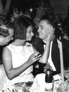Sophia Loren with husband Carlo Ponti, 1962. - Image 0959_2086