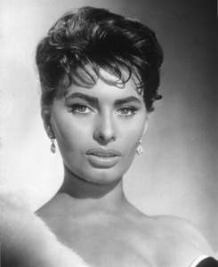 Sophia Loren, c. 1958. - Image 0959_2087