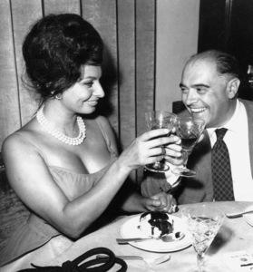 Sophia Loren and her husband, producerCarlo ponti, 1961. - Image 0959_2090