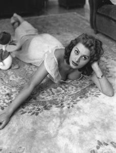Sophia Loren, 1954. - Image 0959_2091