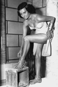 Sophia Loren costumed for ItalianSpectacular, 1953. - Image 0959_2094