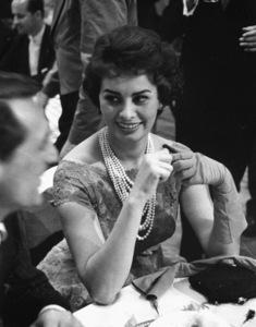 Sophia Loren and Cary Grant, 1957. © 1978 Lou Jacobs Jr. - Image 0959_2097