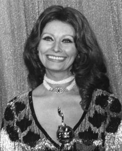 "Sophia Loren at the ""Golden Globe Awards,""1977.Photo by Gabi Rona - Image 0959_2121"