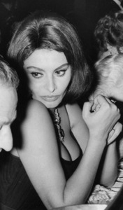 Sophia Loren at Lido Night Club 1961 - Image 0959_2123