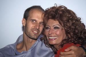 Sophia Loren with her son Edoardo Ponti2003 © 2003 Jean Cummings - Image 0959_2144