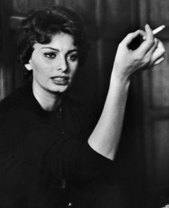 Sophia Lorencirca 1957 © 1978 Sanford Roth / AMPAS - Image 0959_2152