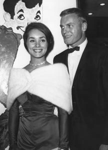 "Tab Hunter and date Vicki Trickett at ""Pepe"" premiere1960Photo by Joe Shere - Image 0961_0817"