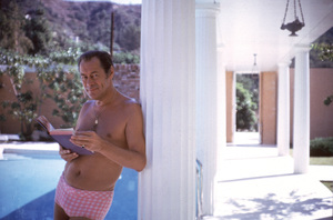 Rex Harrison at home © 1963 Bob Willoughby - Image 0962_0104