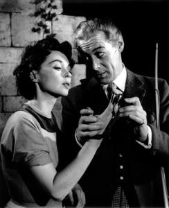 "Lilli Palmer, Rex HarrisonFilm Set""Venus Observed"" 1952Copyright John Swope Trust / MPTV - Image 0962_0809"
