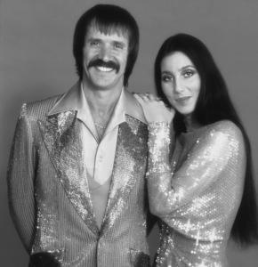 Cher with Husband Sonny Bono, C. 1971 © 1978 John Engstead - Image 0967_0021b