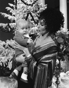 "Cher Bono with son Elijah Allman on ""The Sonny and Cher Show""1976Photo by Gabi Rona - Image 0967_0105"