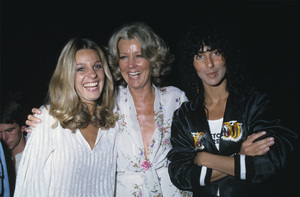 Cher with her sister and mother1983 © 1983 Gunther - Image 0967_0122