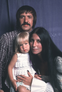 Cher with  daughter Chastity and husband Sonny BonoCirca 1973**H.L. - Image 0967_0171
