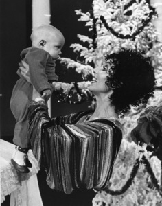 "Cher Bono with son Elijah Allman on ""The Sonny and Cher Show""1976Photo by Gabi Rona - Image 0967_0185"