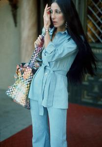 "Cher at the ""Magic Castle"" Charity Event, c. 1973 © 1978 Kim Maydole Lynch - Image 0967_0187"