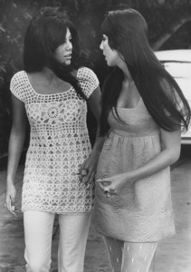 Cher with Tina Sinatra1967 - Image 0967_0189