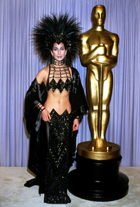 Cher Bonoat the 58th Annual Academy Awards1986**I.V. - Image 0967_0196