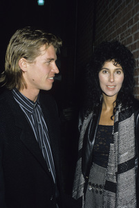 Cher and Val Kilmer1984 © 1984 Gary Lewis - Image 0967_0221
