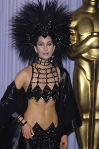 """Cher at """"The 58th Annual Academy Awards""""1986 © 1986 Gary Lewis - Image 0967_0225"""