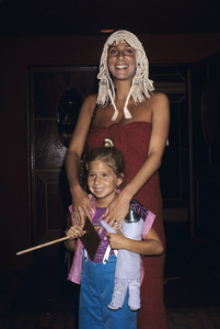 Cher and daughter Chastitycirca 1970s © 1978 Gary Lewis - Image 0967_0228