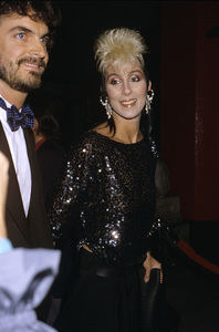 Cher and Josh Donen1984 © 1984 Gary Lewis - Image 0967_0230