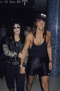 Cher and Richie Sambora1989 © 1989 Gary Lewis - Image 0967_0234