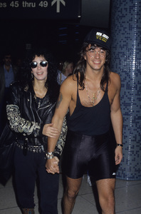 Cher and Richie Sambora1989 © 1989 Gary Lewis - Image 0967_0234